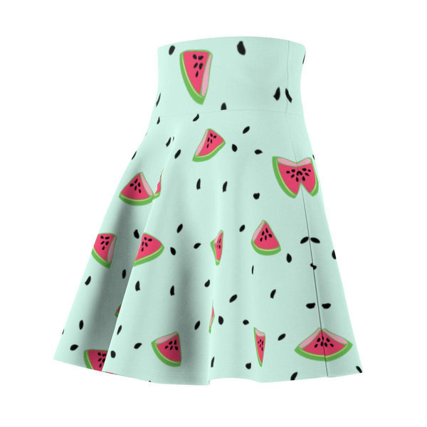 Watermelon Women's Skater Skirt-All Over Prints-famenxt