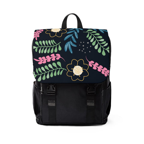 Botanical Unisex Casual Shoulder Backpack-Bags-famenxt