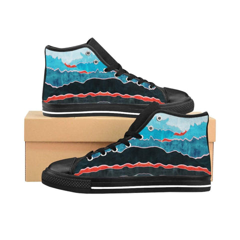 Mountains Women's High-top Sneakers - famenxtshop