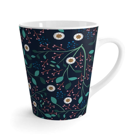 Night Floral Latte mug-Mug-famenxt
