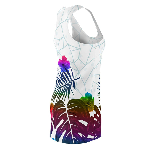 Tropical Woman's Racerback Dress-All Over Prints-famenxt