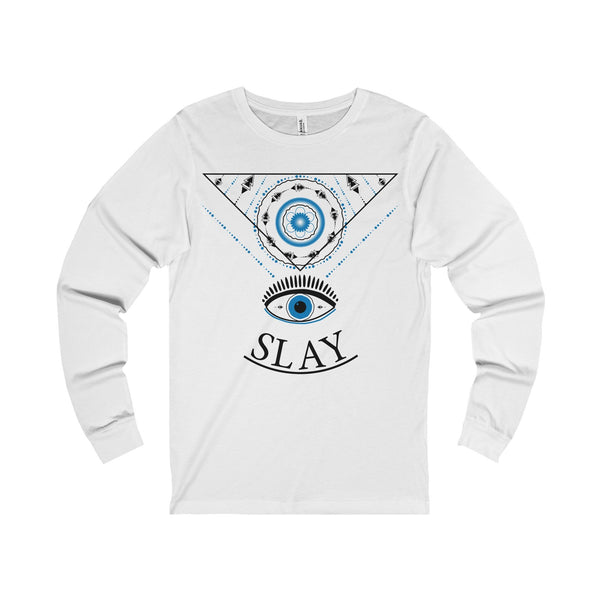 Slay Unisex Jersey Long Sleeve Tee-Long-sleeve-famenxt