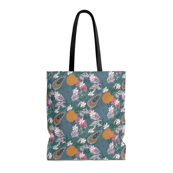 Tropicana Green Tote Bag-Bags-famenxt