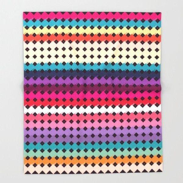 Colorful day Throw Blanket-Throw Blanket-famenxt