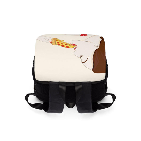 Pizza Unisex Casual Shoulder Backpack-Bags-famenxt