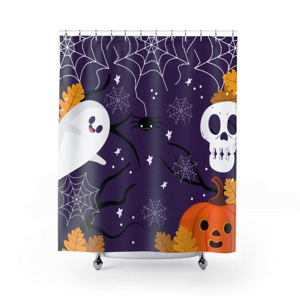 Halloween Boo Shower Curtain-Home Decor-famenxt