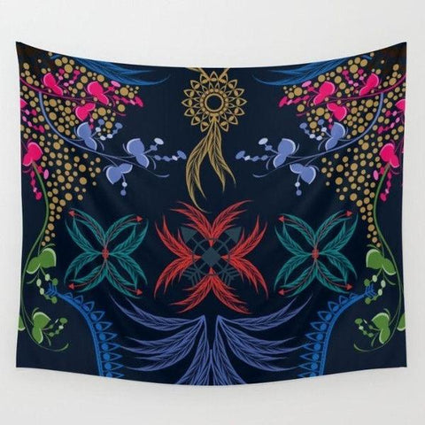 Bohemian feather Wall Tapestry-Wall Tapestry-famenxt