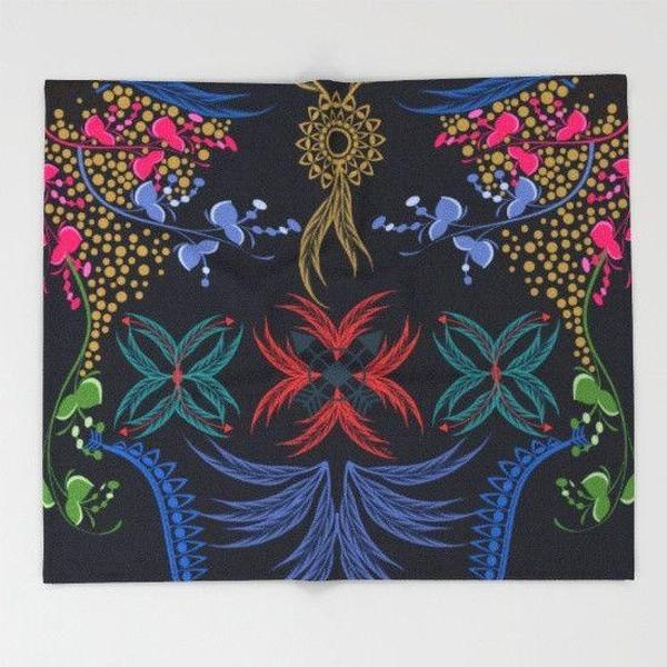 Bohemian feelings Throw Blanket-Throw Blanket-famenxt