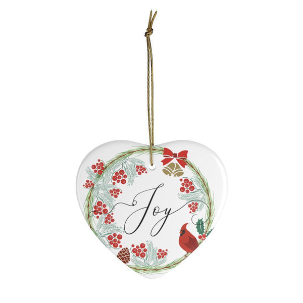 Joy Ceramic Ornaments in Four Unique Shapes-Home Decor-famenxt