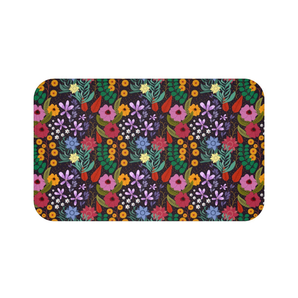 Blooming Garden Bath Mat-Home Decor-famenxt