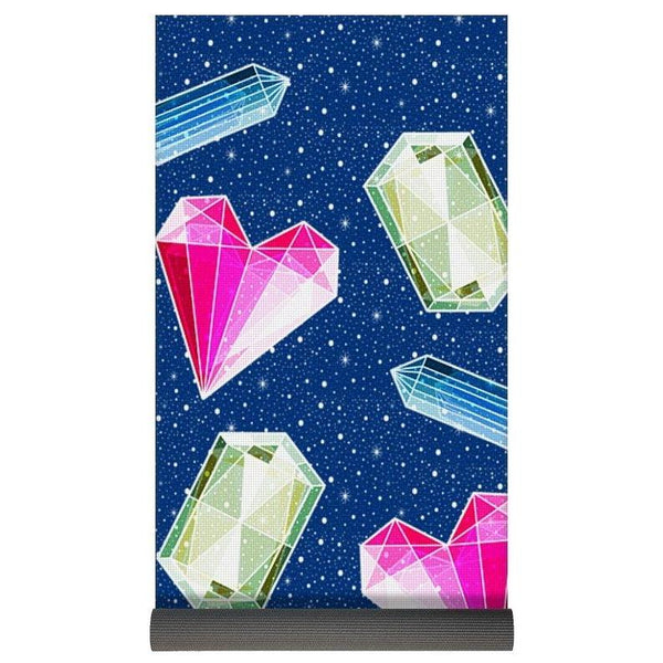 Crystals And Gemstones - Yoga Mat-Yoga Mat-famenxt
