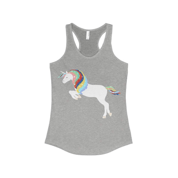 Unicorn Women's Ideal Racerback Tank-Tank Top-famenxt