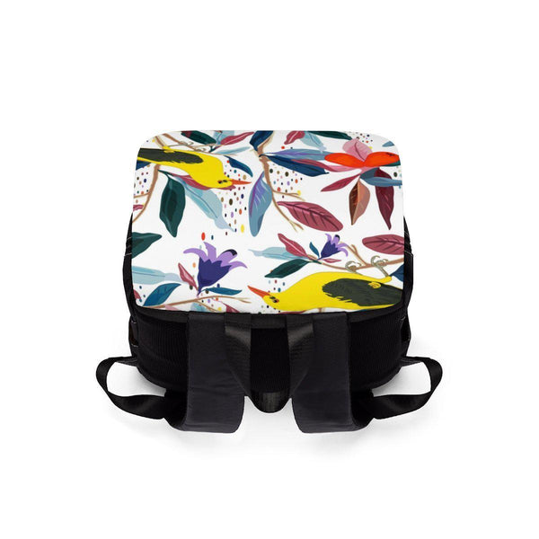 From mybirdparadise Collection Eurasian Golden Oriole Unisex Casual Shoulder Backpack-Bags-famenxt