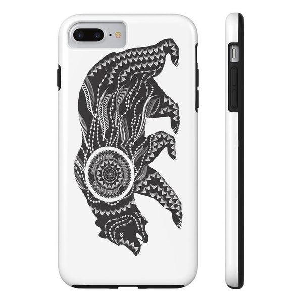 Ornamental Bear Tough and Slim Phone cases-Phone Case-famenxt