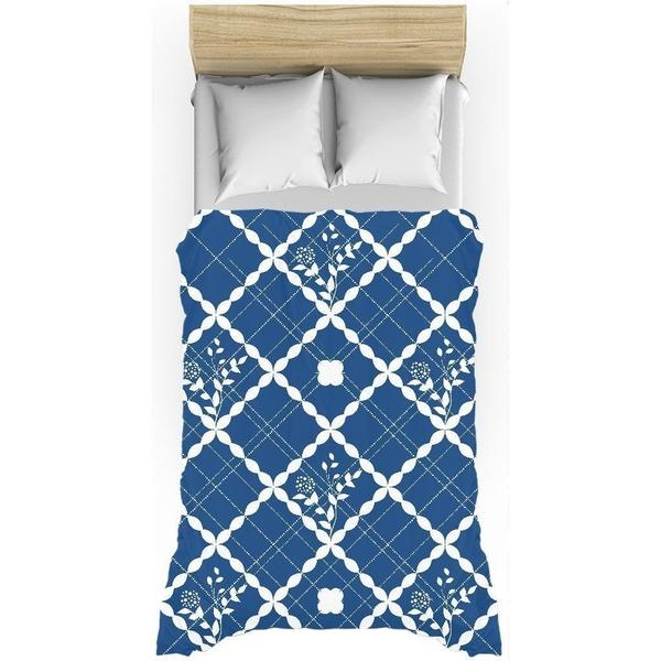 Nautical blue pattern duvet cover-Duvet Cover-famenxt