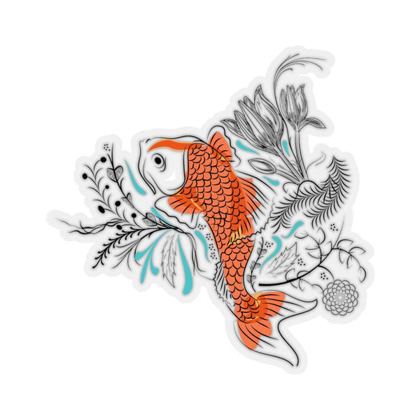The Koi Stickers-Paper products-famenxt