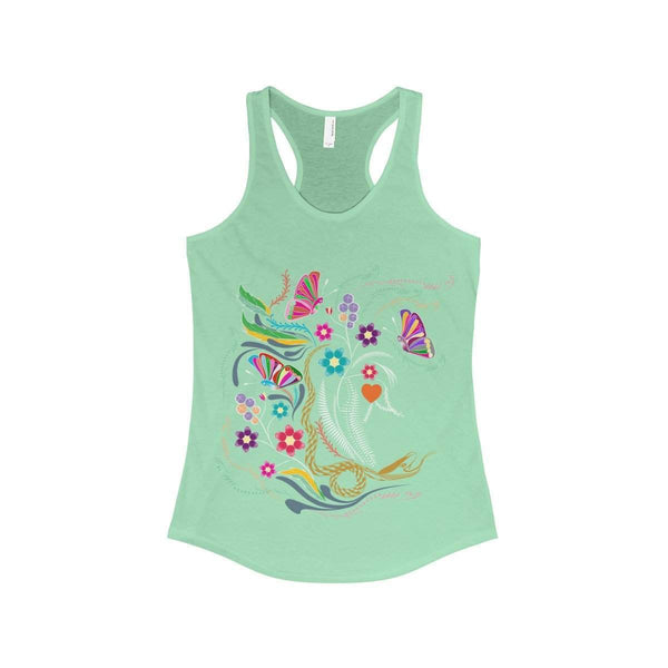 The beautiful Jungle Women's Ideal Racerback Tank-Tank Top-famenxt
