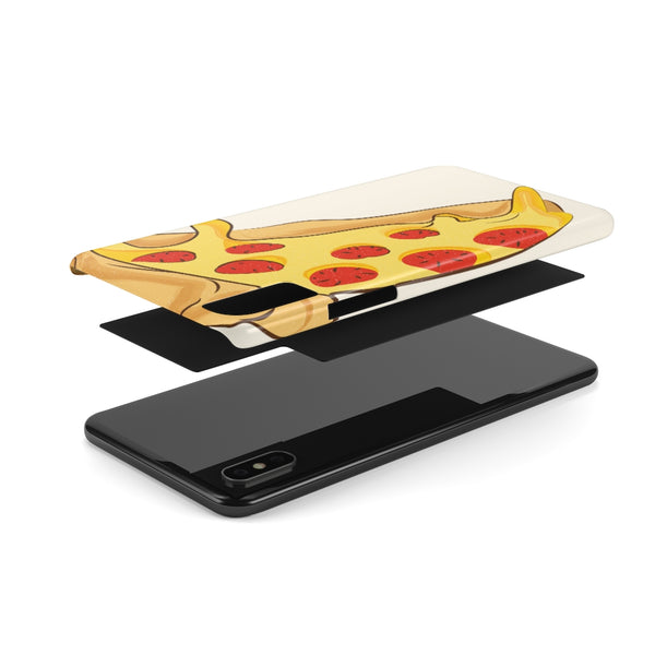 Pizzza Slim Phone Cases-Phone Case-famenxt
