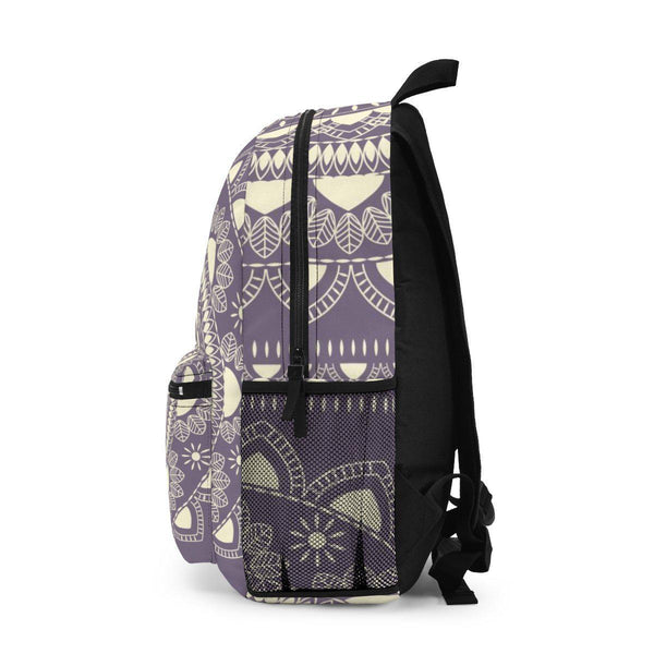 Soft Purple Boho Mandala Backpack Premium-Bags-famenxt