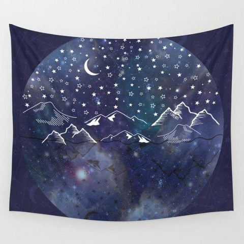 Space Universe Wall Tapestry-Wall Tapestry-famenxt