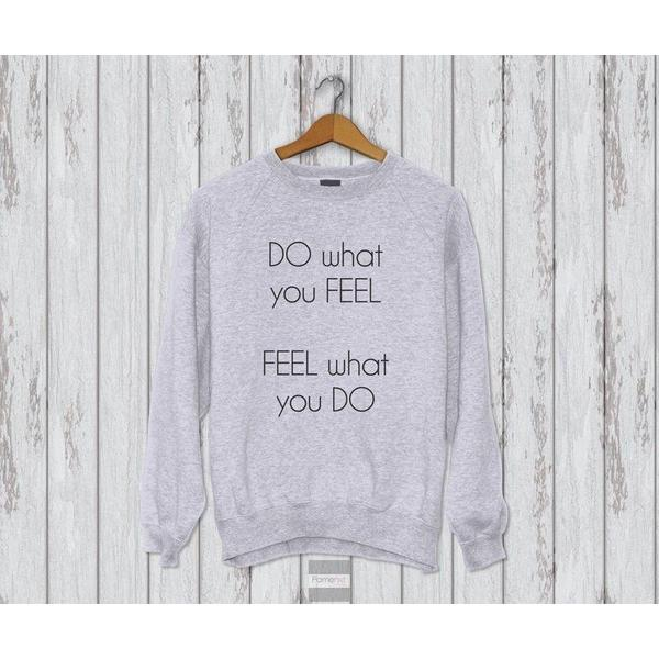 Motivational typography Sweatshirt-Sweatshirt-famenxt