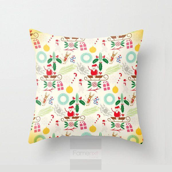 Holy Christmas Throw Pillow Case-Pillows-famenxt