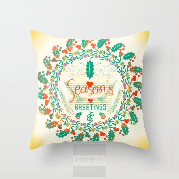 Christmas Season Throw Pillow Case-Pillows-famenxt