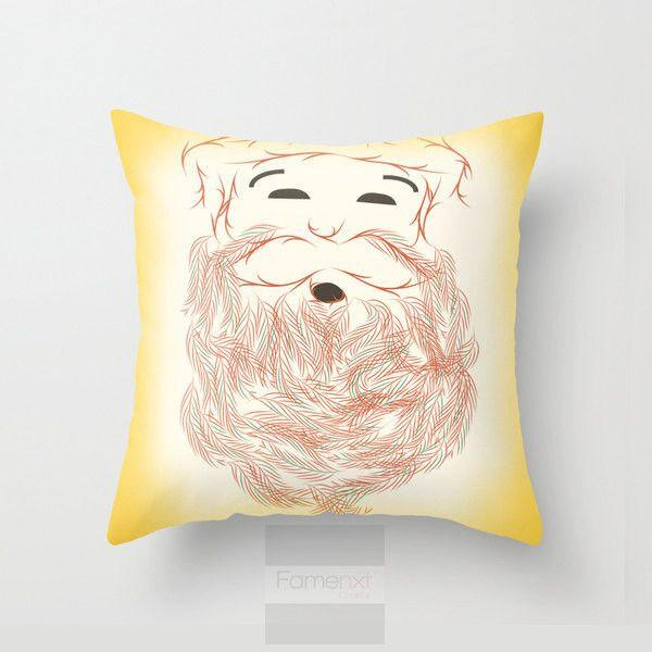 Christmas Santa Throw Pillow Case-Pillows-famenxt