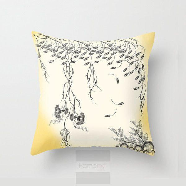 Decorative spring Floral Throw Pillow Case-Pillows-famenxt