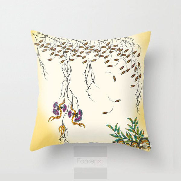 Shabby Chic Sweet Flowers Throw Pillow Case-Pillows-famenxt