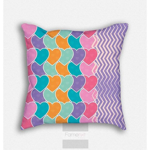 Chevron Pattern Throw Pillow Case-Pillows-famenxt