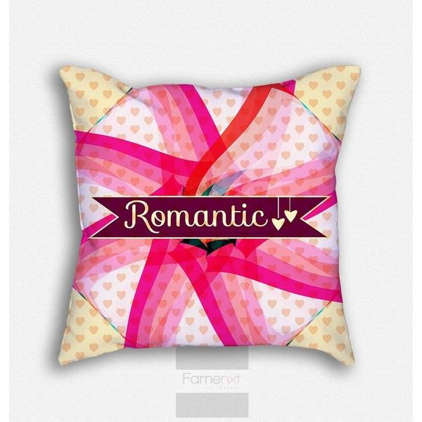 Sweet Pink Polka Dots Throw Pillow Case-Pillows-famenxt