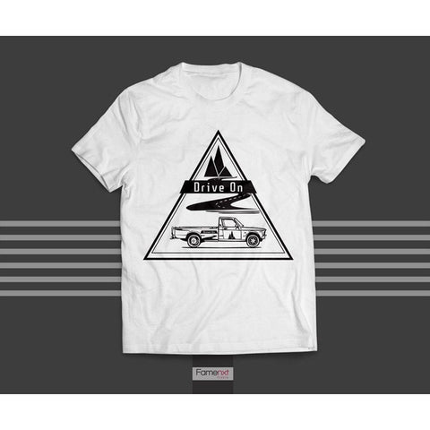 T shirt Graphic Tee Adventure Drive on T shirt for Men and Women-T shirt-famenxt