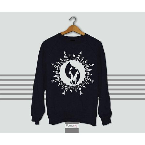 Cute Graphic Boho Fox Sweatshirt Jumper-Sweatshirt-famenxt
