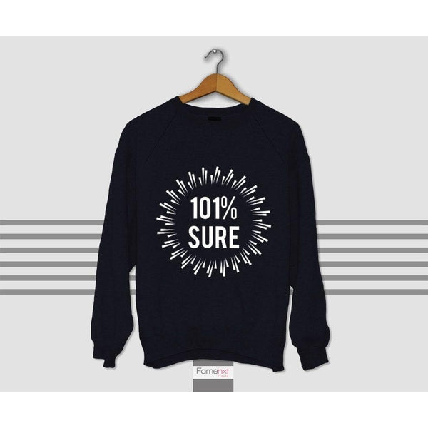 Graphic Sweatshirt Fun Typographic Quote Jumper-Sweatshirt-famenxt