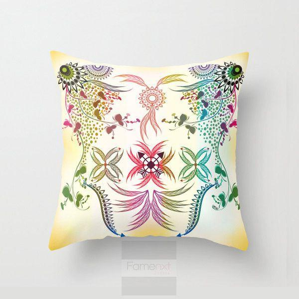 Bohemian Throw Pillow Case-Pillows-famenxt