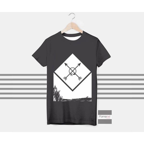 T shirt Bohemian and Rustic Arrow Graphic T shirt for Men and Women-T shirt-famenxt
