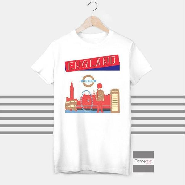 London T shirt Travel T shirt for Men and Women-T shirt-famenxt