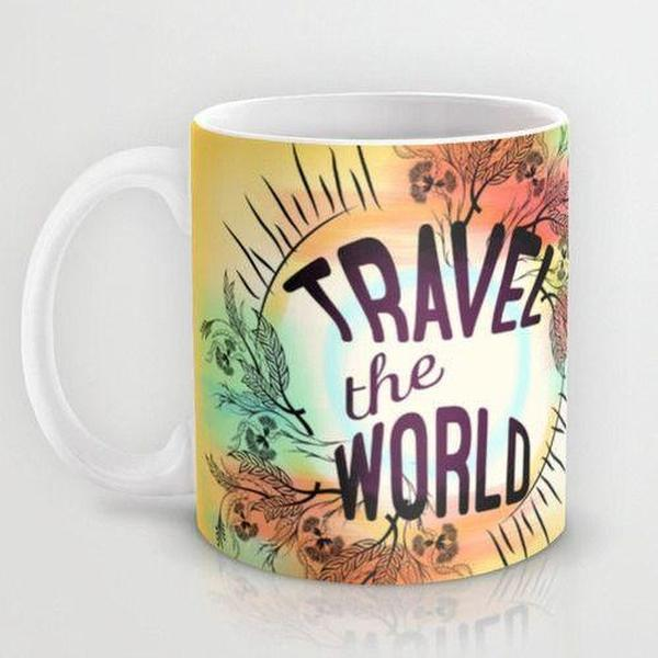 Mug, Travel the World Coffee Mug, ceramic mug-Mug-famenxt