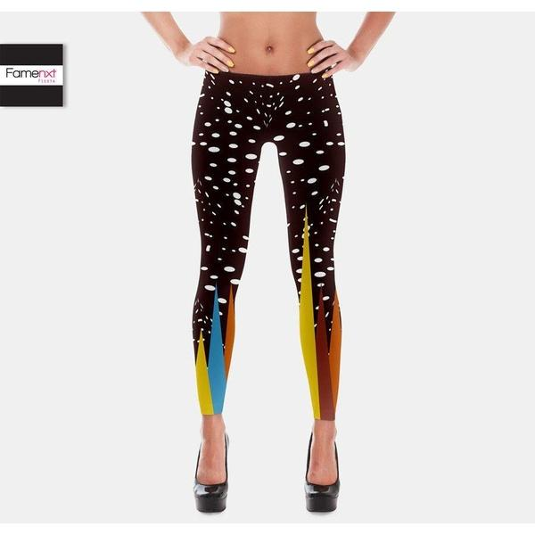 Galaxy womens Leggings dark-Leggings-famenxt