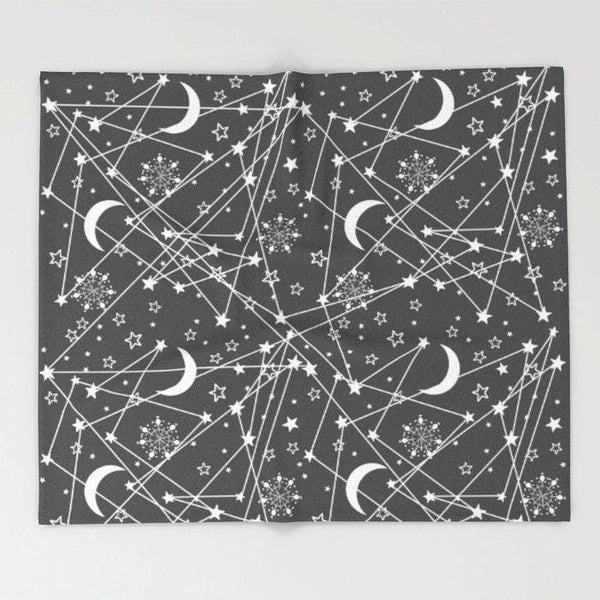 Space Throw Blanket-Throw Blanket-famenxt