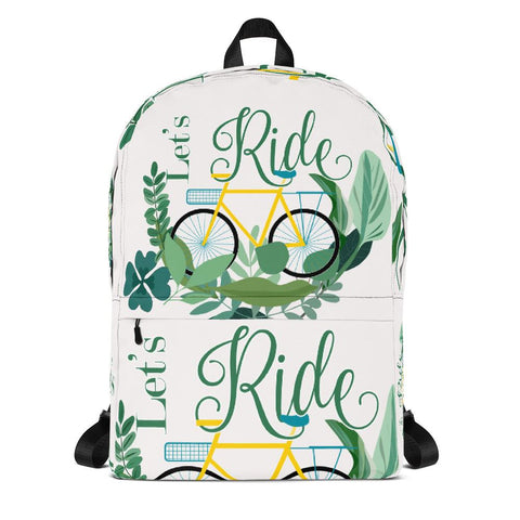 Let's Ride Backpack From Save the Mother Earth Collection - famenxtshop