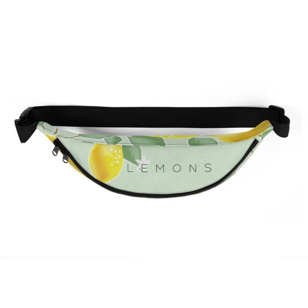 Fanny Pack for Men and Women, Lemons Waist Pack Belt Bags with Adjustable Strap-famenxt