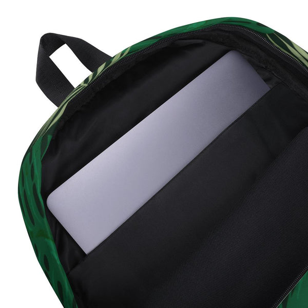 Tropical Green Jungle Backpack-famenxt
