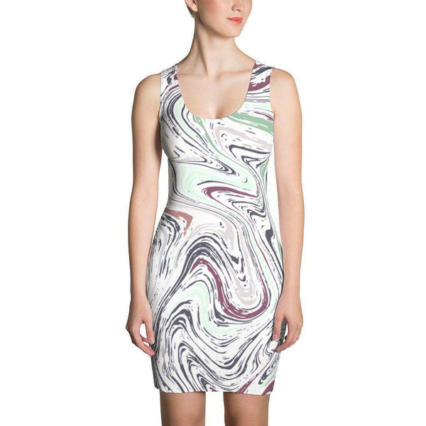 Liquid Marble Dress-famenxt
