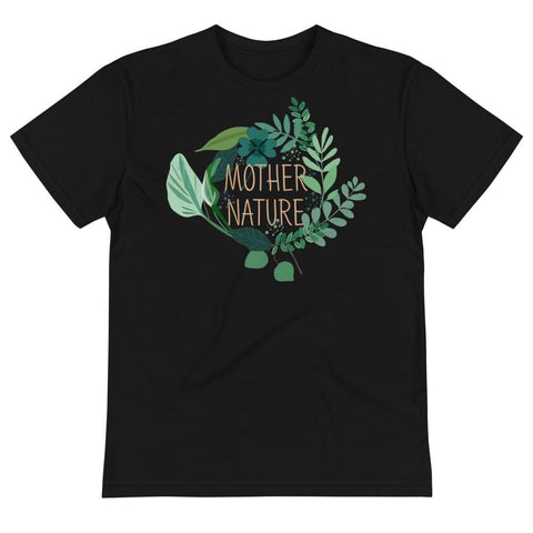 Mother Nature Unisex Eco Tee From Save the Mother Earth Collection-famenxt