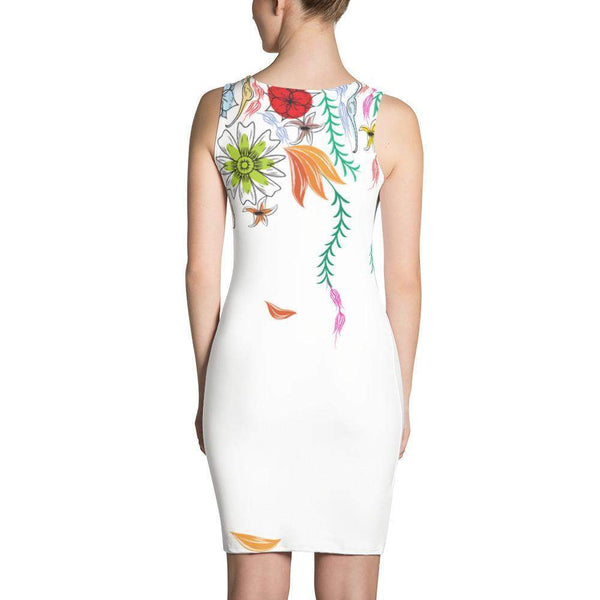 Falling Flowers Dress-famenxt