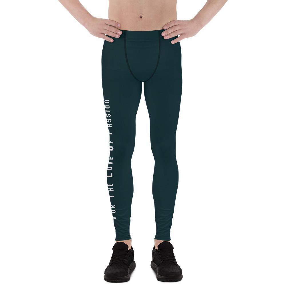 For the Love of Passion Men Sportswear Leggings-famenxt