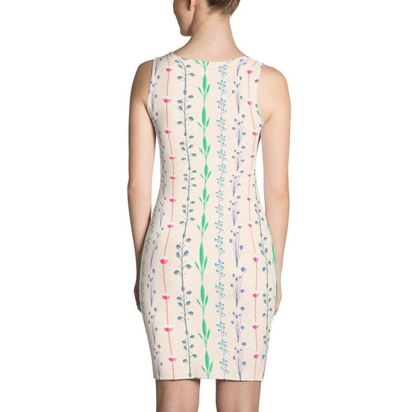 Plants Nature Dress-famenxt