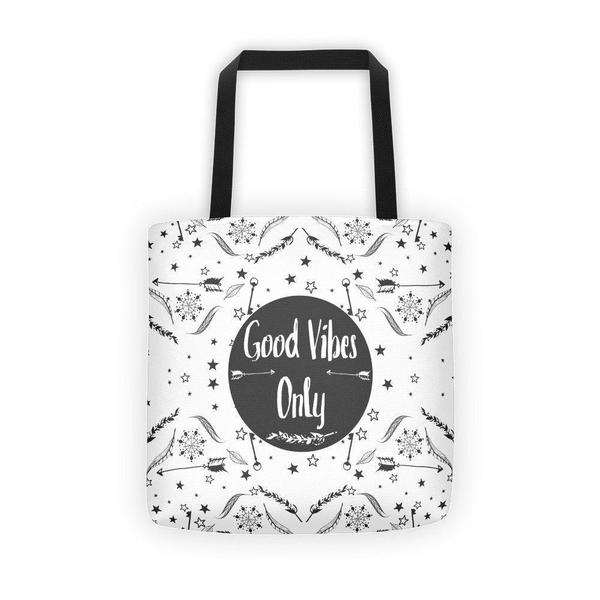 Good vibes only Tote bag-tote bags-famenxt